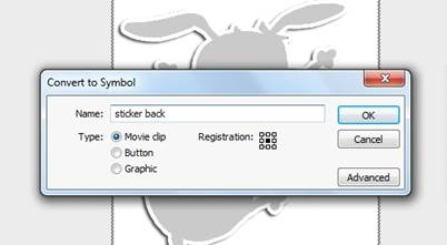 cara membuat animasi stiker dengan Adobe flash CS4