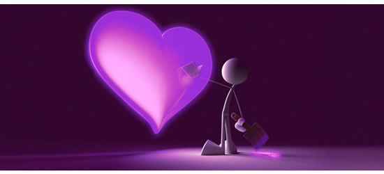 Painted Heart Facebook Covers