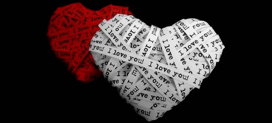I Love You Hearts Profile Facebook Covers