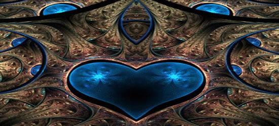 Blue Heart Facebook Cover