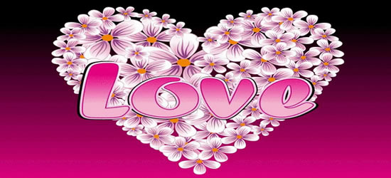 Love Blossoms Facebook Cover