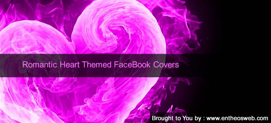 Romantic Heart Themed FaceBook Covers