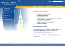 Free christian church website templates attractive church website pronofoot35fo Image collections