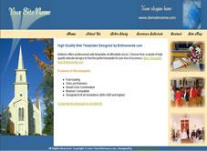 Free christian church website templates christian template 5 simple church website pronofoot35fo Gallery