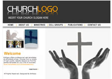 Free christian church website templates christian template 7 pronofoot35fo Gallery