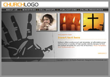 Free christian church website templates christian template 7 pronofoot35fo Image collections