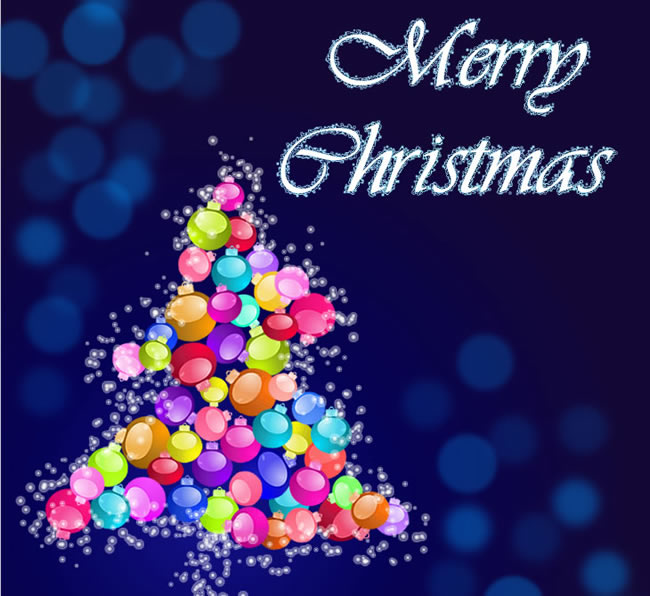 Create a beautiful christmas card in adobe fireworks