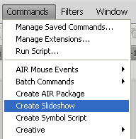 create slideshow