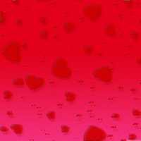 Beautiful Hearts Background