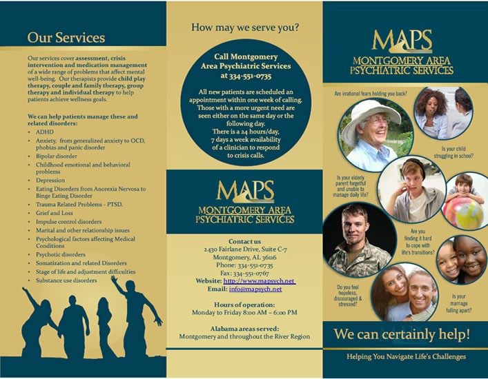 MAPS Trifold Brochure for Patients