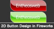 Learn How to Create a Smart 2D Button in Adobe Fireworks with Rollover Effect