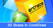 3D Boxes in Coreldraw