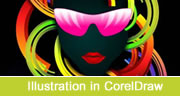 Abstract Illustration in CorelDraw