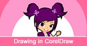 drawing an anime cartoon in Coreldraw
