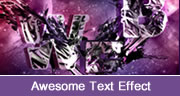 Awesome Text Effect