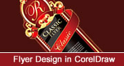 Classic Flyer Design in Coreldraw