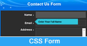 css form tutorial