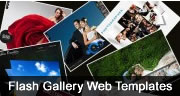 Best Flash Photo Gallery Website Templates