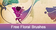 free floral brushes