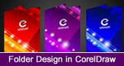 Folder Design in Coreldraw