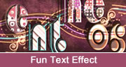 fun text effect