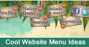 Cool Website Menu Ideas