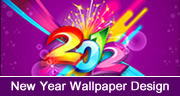 New Year Wallpaper Design in Coreldraw