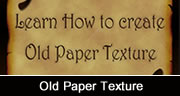 old paper texture in Photoshop