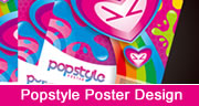 colorful popstyle poster