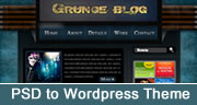 convert psd to wordpress theme