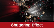 shattering effect