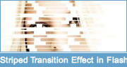 Striped Transition Effect Tutorial in Flash