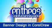Website Banner Design in CorelDraw