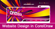 Website Design in CorelDraw