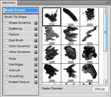 How to use patterns as brush textures in photoshop tutorial youtube.