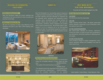 writing services environmental brochure