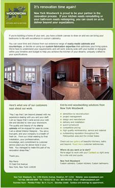 ... Flemington, NJ Brochure announcing new website – writing and design