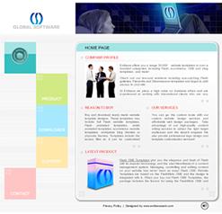 Free Dynamic Flash Website Templates - Dynamic web template