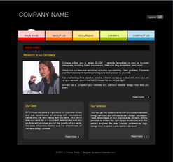 css template 1