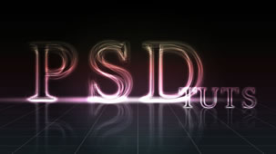 28 in 50 Stunning Photoshop Text Effect Tutorials