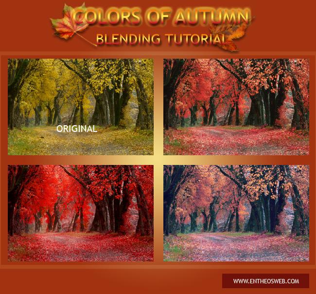 Картинки для фотошопа на тему осень