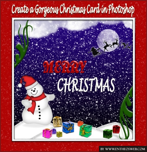 Create a Simple Christmas Card in Photoshop