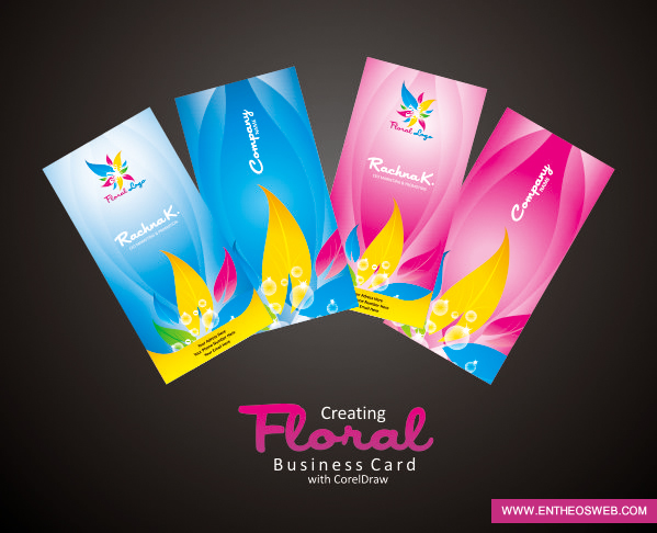 Business card design in coreldraw download source file reheart Choice Image