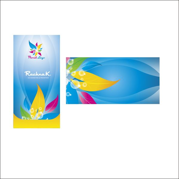 Business card design in coreldraw step 10 creating back card reheart Images