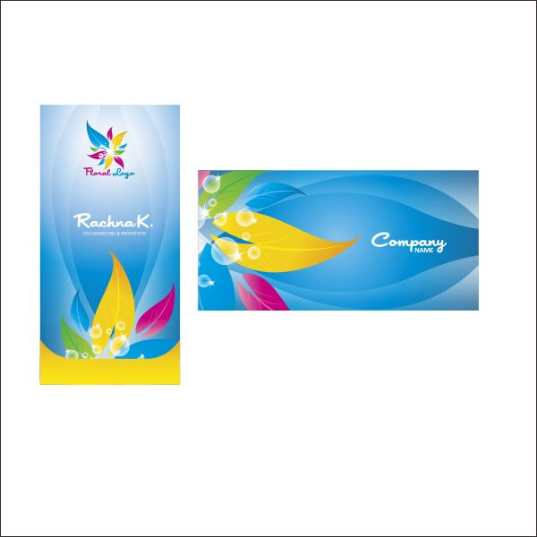 Business card design in coreldraw business card template reheart Choice Image