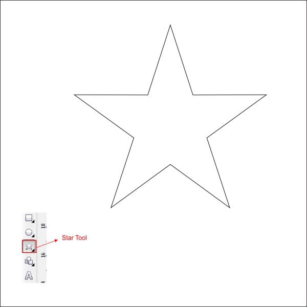 Star Outline Drawing or Outline For The Star by