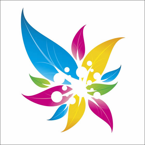 Colorful Floral Logo Design In Corel Draw Tutorial