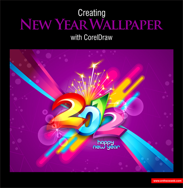 2012 Wallper Design In Coreldraw
