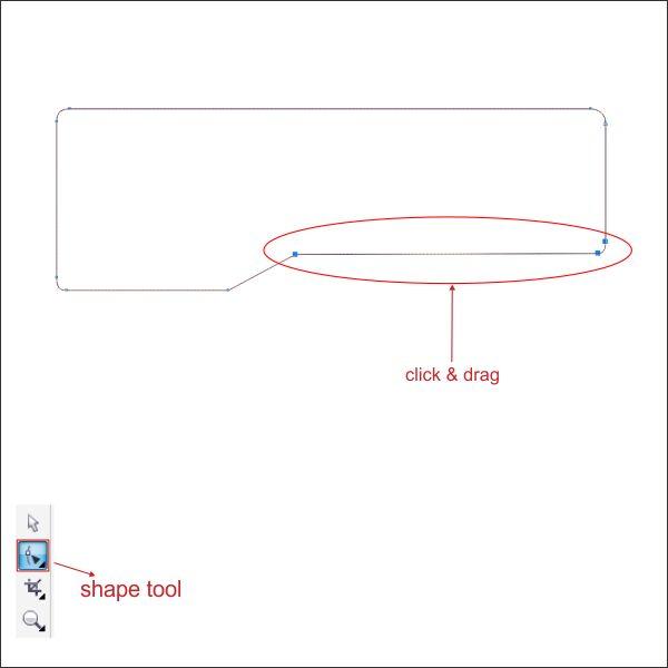 Desain website dengan coreldraw corel tutorial tekan ctlq click drag panah di sudut untuk membuat bentuk seperti ini ccuart Images