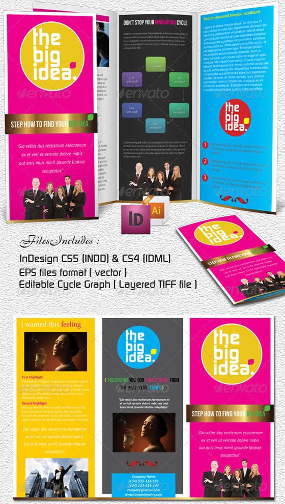 Creative Tri-fold Brochure Design Templates